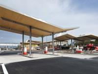A71 – aire de l'Allier Doyet – chantier