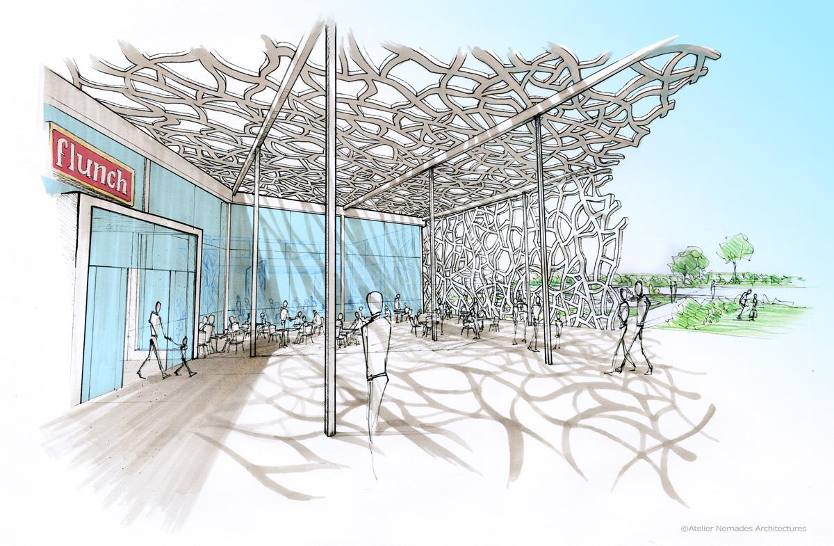a6 – aire de la réserve – concours lauréat | atelier nomades